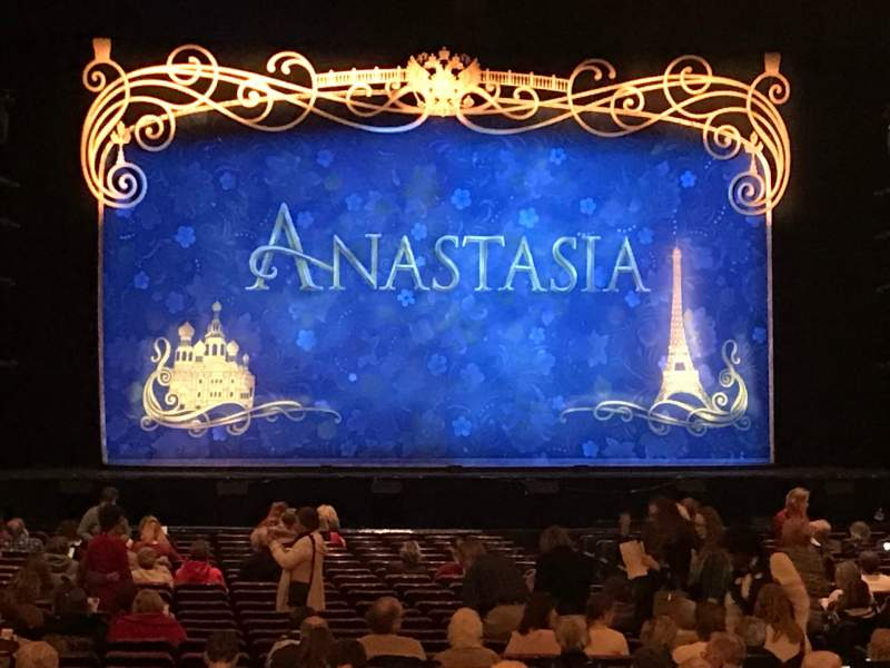 Seating view for The Fabulous Fox Theatre (St. Louis) Section Or03 Row Gg Seat 117-119