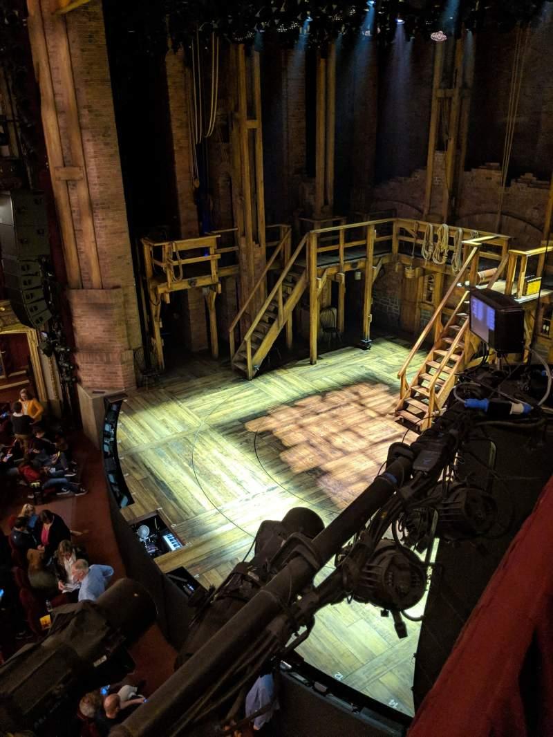 Seating view for CIBC Theatre Section Mezzanine Box 6 Seat 2