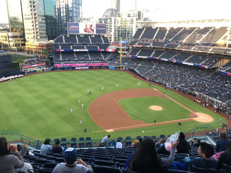Seating view for Petco Park Section 316 Row 20 Seat 14