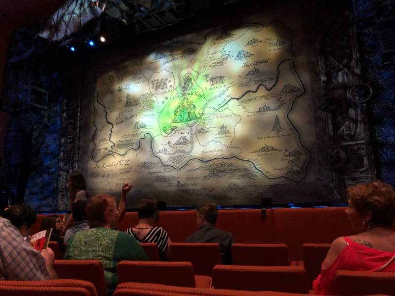 Seating view for ASU Gammage Section ORVIP2 Row 4 Seat 24