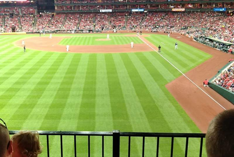 Seating view for Busch Stadium Section LP3 Row 3 Seat 15