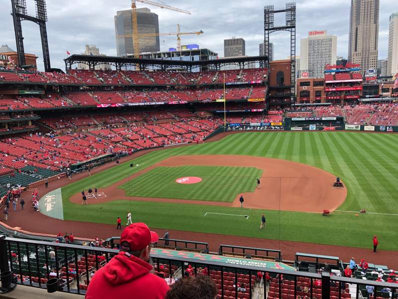 Seating view for Busch Stadium Section 242 Row 3 Seat 11