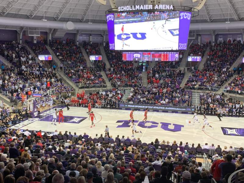 Seating view for Schollmaier Arena Section 201 Row L Seat 24