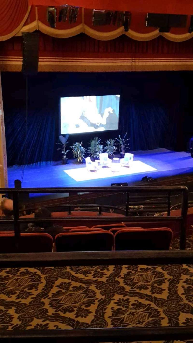 Seating view for Citizens Bank Opera House Section MEZLFT Row B Seat 13