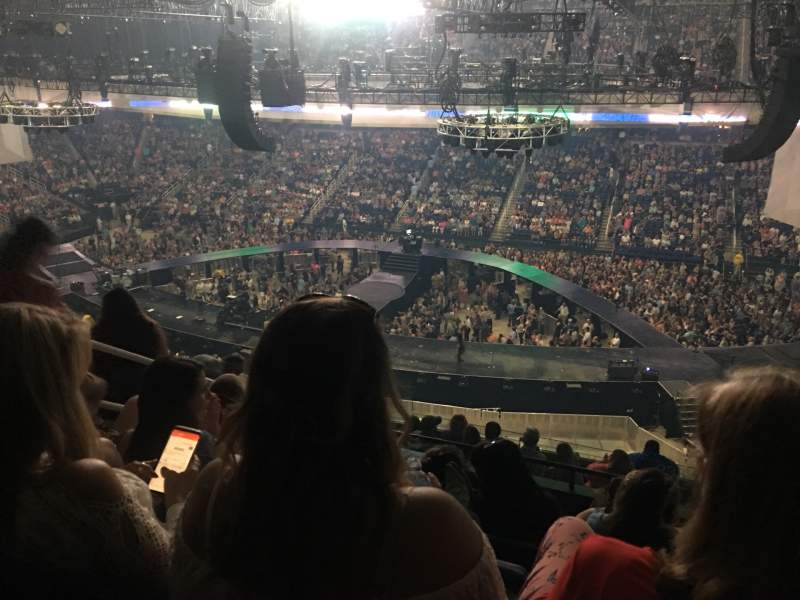 Seating view for Greensboro Coliseum Section 233 Row K Seat 10