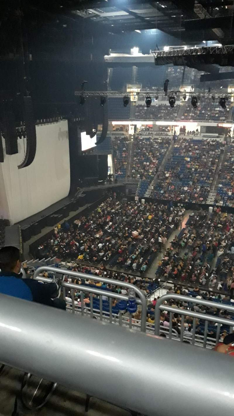 Seating view for Coliseo De Puerto Rico Section U 215 Row K Seat 2