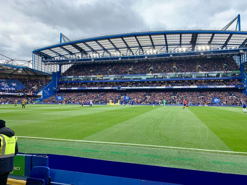 Seating view for Stamford Bridge Section East Lower North Family (Block6) Row E Seat 147