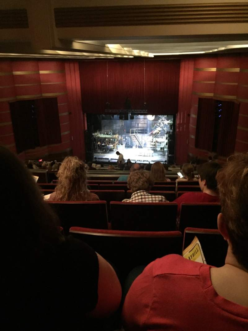 Seating view for Kansas City Music Hall Section Balcony RC Row W Seat 5