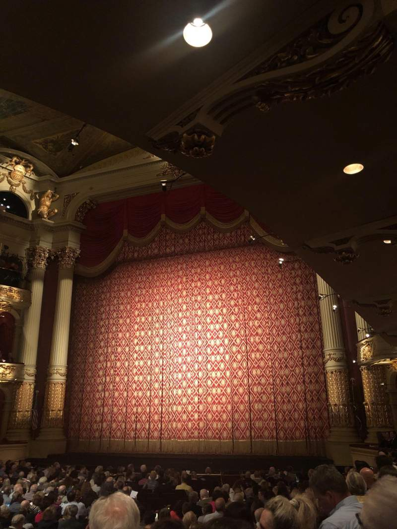 Seating view for Academy of Music Section Parquet Circle C Row U Seat 14