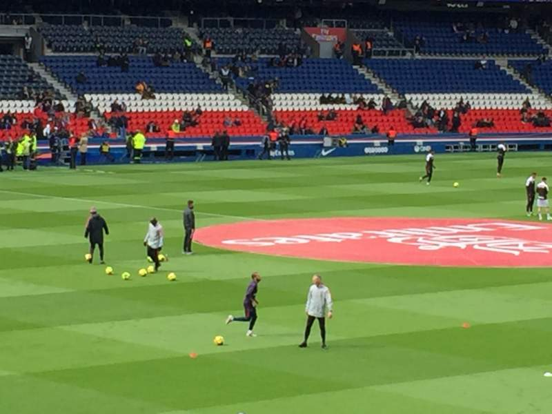Seating view for Parc des Princes