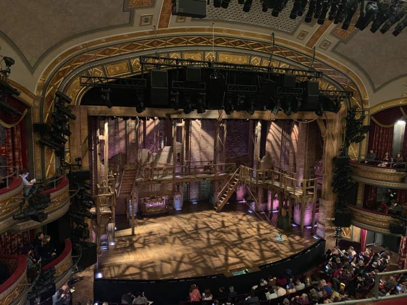Seating view for Richard Rodgers Theatre Section Front Mezzanine L Row D Seat 11
