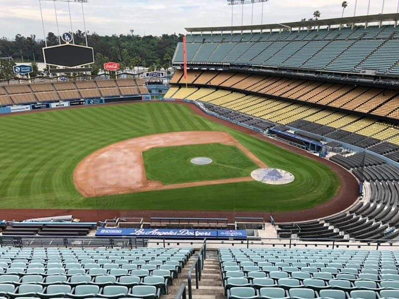 Seating view for Dodger Stadium Section 15RS Row S Seat 6
