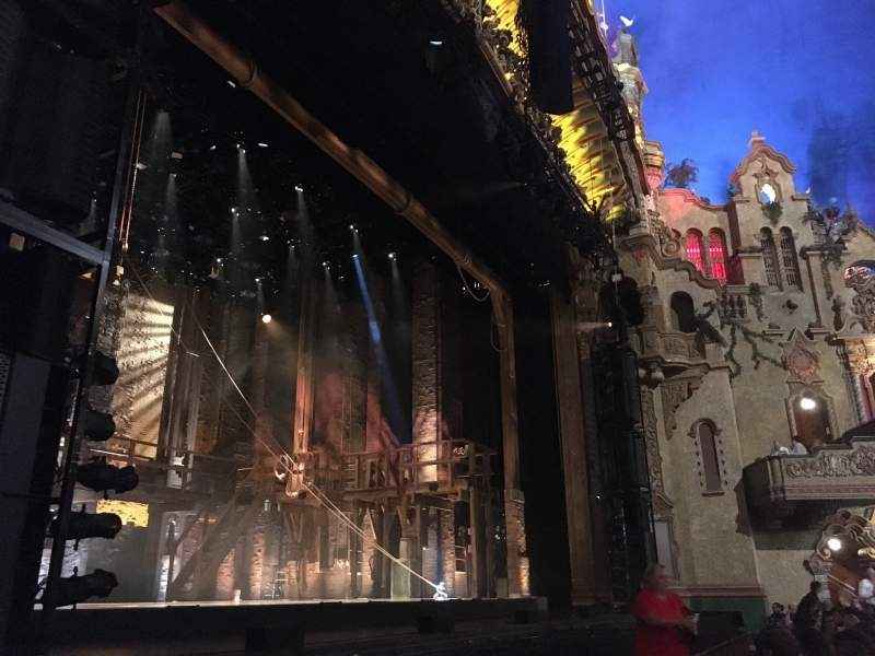 Seating view for Majestic Theatre - San Antonio Section Orchestra Box L1 Row 2 Seat 1