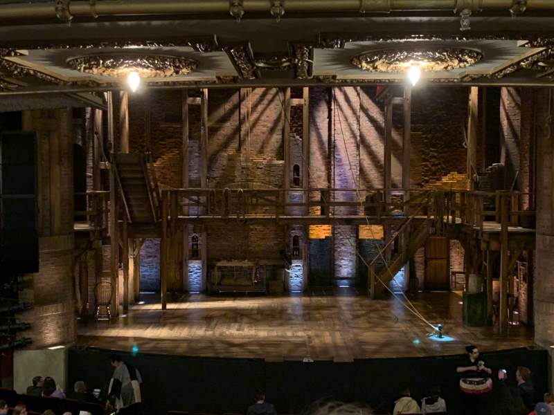 Seating view for CIBC Theatre Section Dress Circle C Row B Seat 204