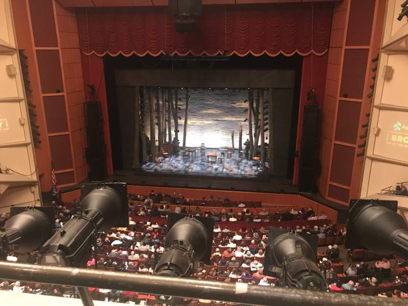 Seating view for Uihlein Hall Section C Loge Row A Seat 33