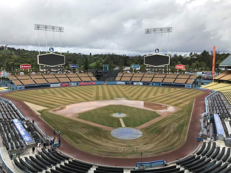 Seating view for Dodger Stadium Section 3RS Row C Seat 8