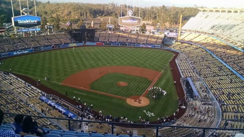 Seating view for Dodger Stadium Section 7TD Row J Seat 16