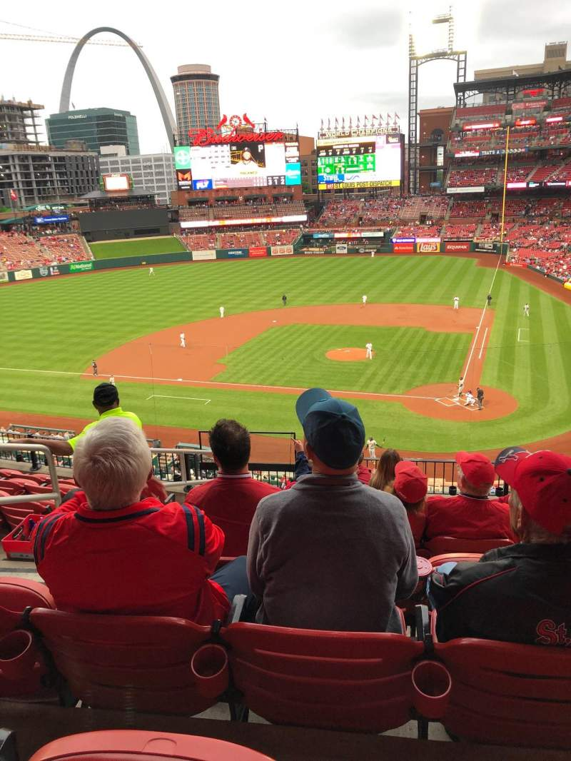 Seating view for Busch Stadium Section 253 Row 8 Seat 14