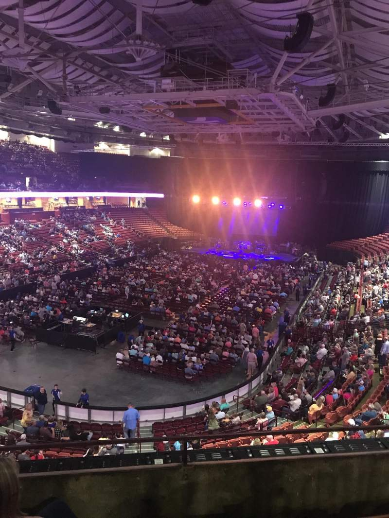 Seating view for Bon Secours Wellness Arena Section 231 Row C Seat 3