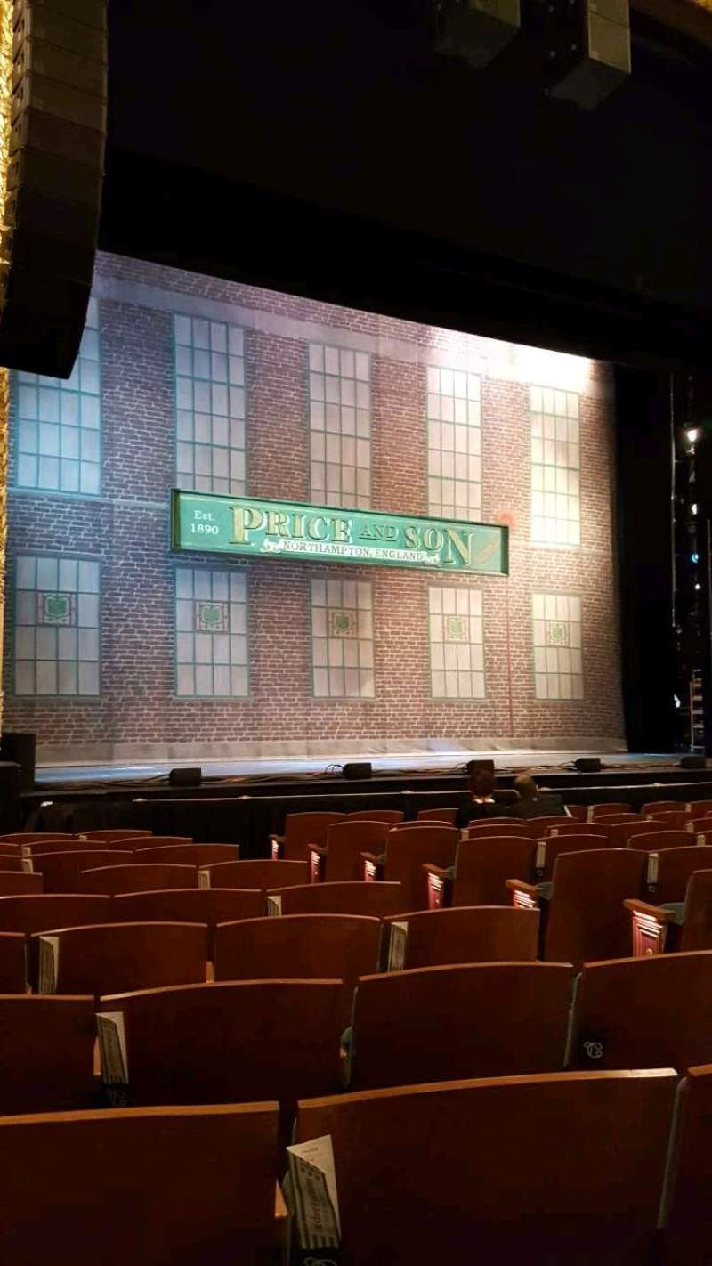 Seating view for Emerson Colonial Theatre Section Orchestra Row L Seat 11
