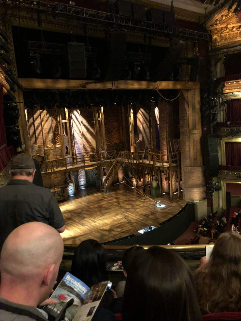 Seating view for CIBC Theatre Section Mezzanine L Row C Seat 11
