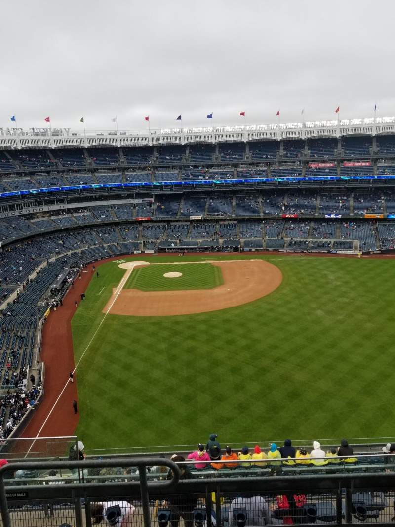 Seating view for Yankee Stadium Section 405 Row 5 Seat 20