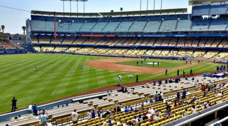 Seating view for Dodger Stadium Section 157LG Row C Seat 7