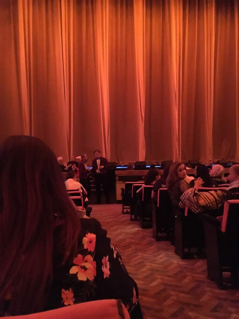 Seating view for Radio City Music Hall Section Orchestra 5 Row KK Seat 501