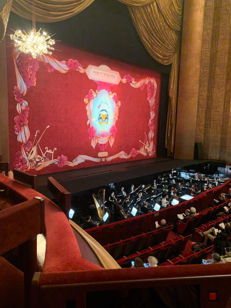 Seating view for Metropolitan Opera House - Lincoln Center Section Parterre Row 5 Seat 3
