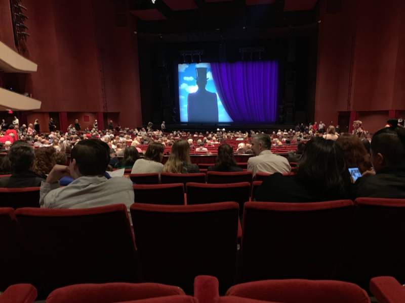Seating view for San Diego Civic Theatre Section Dress Circle Row G Seat 16
