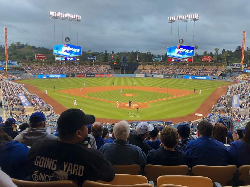Seating view for Dodger Stadium Section 101LG Row N Seat 5