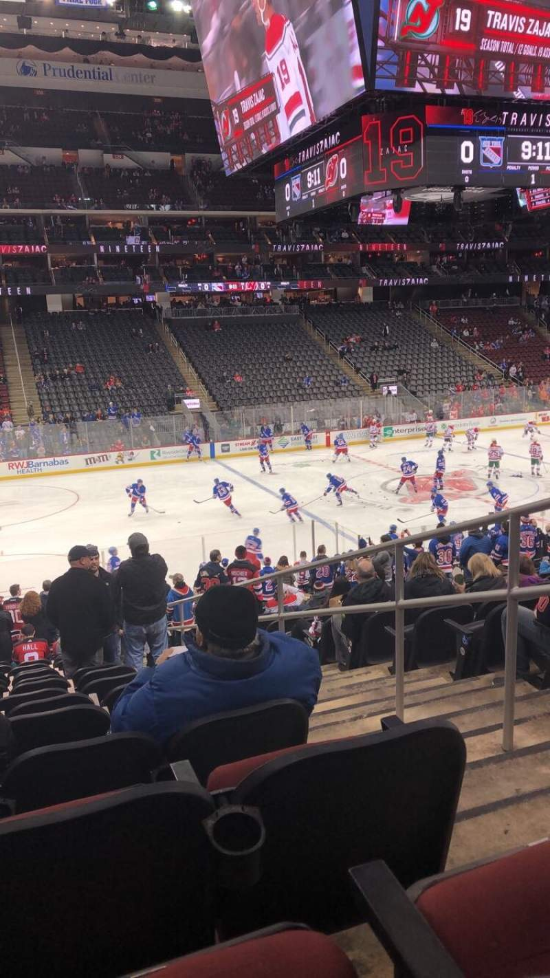 Seating view for Prudential Center Section 6 Row 29 Seat 2