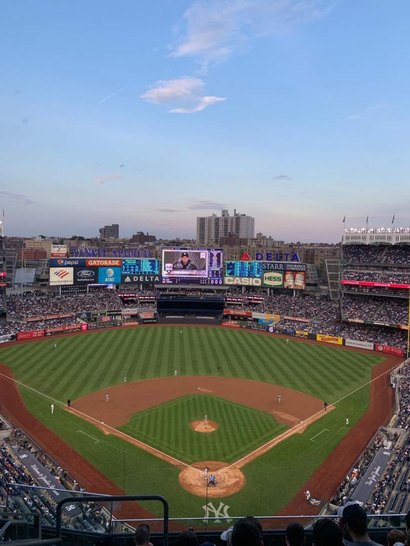 Seating view for Yankee Stadium Section 420b Row 7 Seat 27