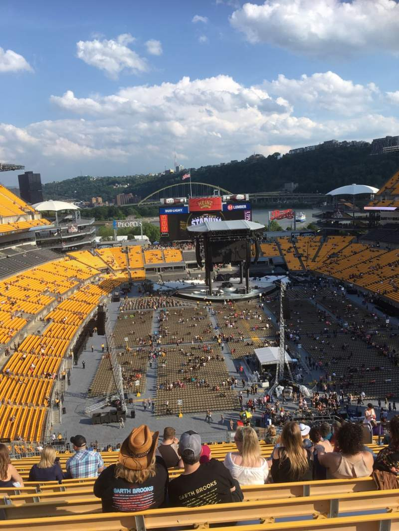 Seating view for Heinz Field Section 521 Row Z Seat 9
