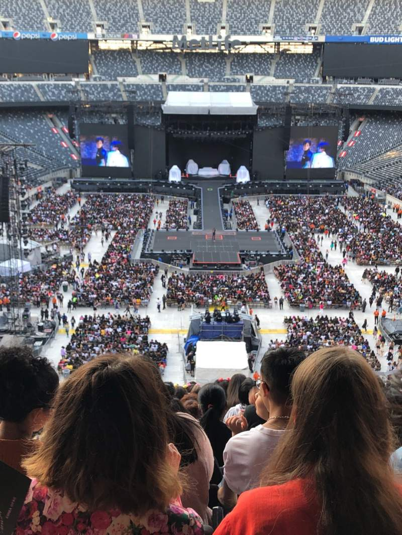 Seating view for MetLife Stadium Section 226 Row 12 Seat 19