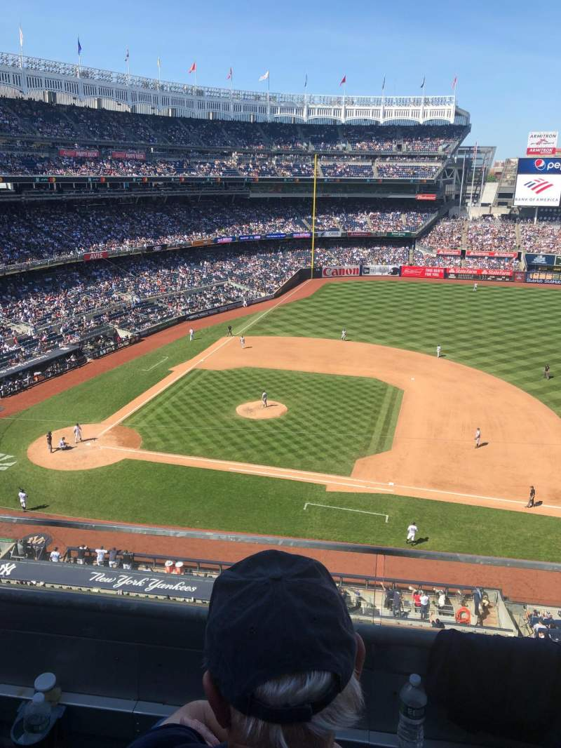 Seating view for Yankee Stadium Section 315 Row 2 Seat 7