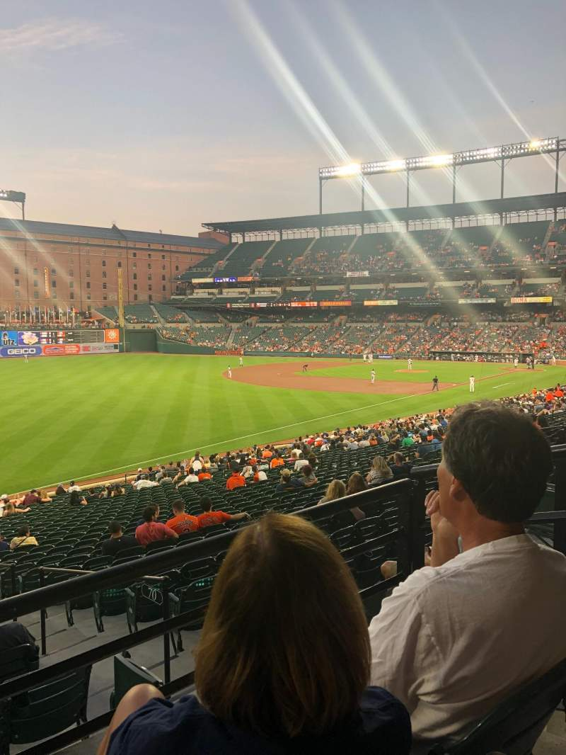 Seating view for Oriole Park at Camden Yards Section 69 Row 2 Seat 3