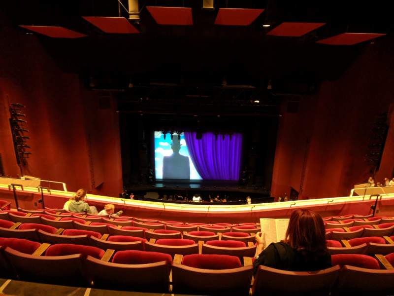 Seating view for San Diego Civic Theatre Section Balc Row V Seat 5