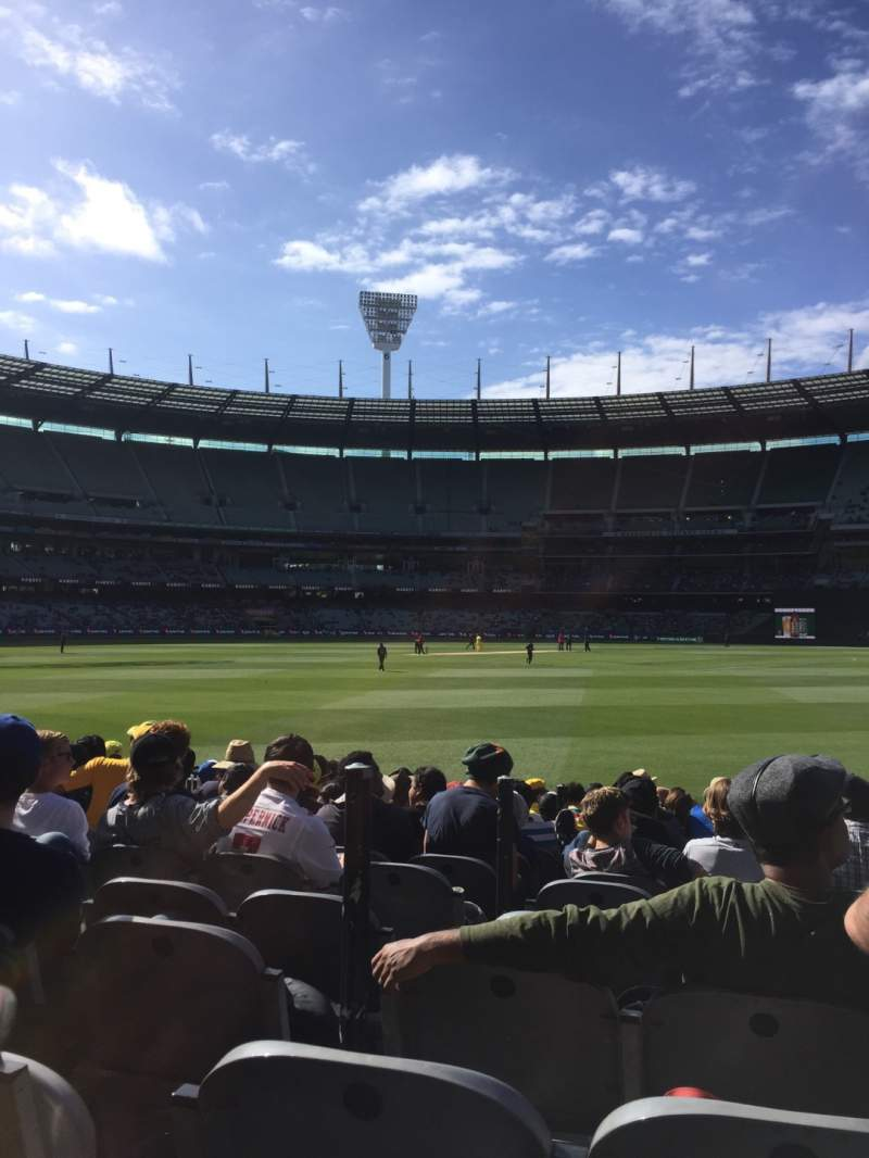 Seating view for Melbourne Cricket Ground Section 13 Row 12 Seat 3
