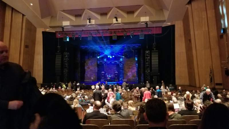 Seating view for Keller Auditorium Section Orchestra D Row AA Seat 3