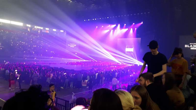 Seating view for Manchester Arena Section 113 Row H Seat 22