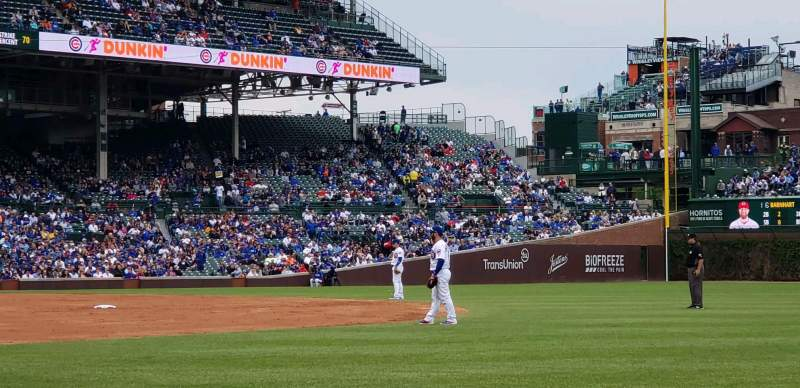 Seating view for Wrigley Field Section 30 Row 5 Seat 5