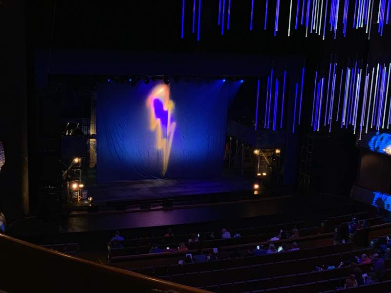 Seating view for Winspear Opera House Section Mezzanine Row D Seat 8