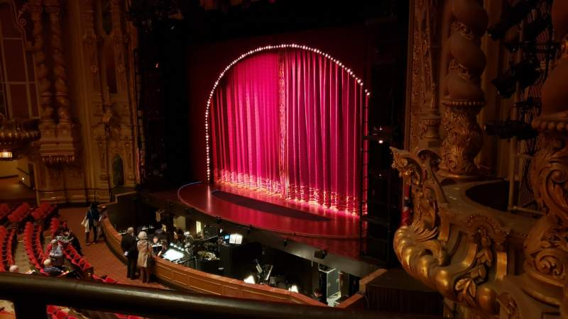 Seating view for Ohio Theatre (Columbus) Section Loge A Row A Seat 22