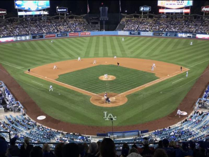 Seating view for Dodger Stadium Section 1RS Row K  Seat 11