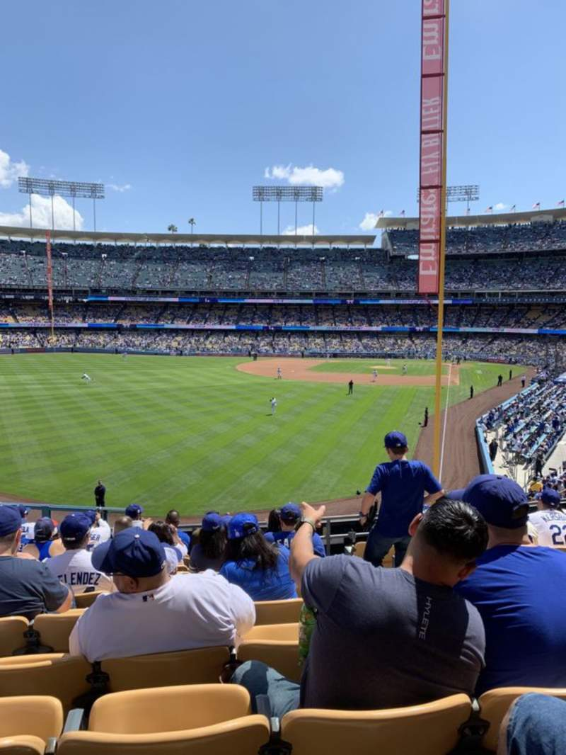 Seating view for Dodger Stadium Section 167LG Row K  Seat 4