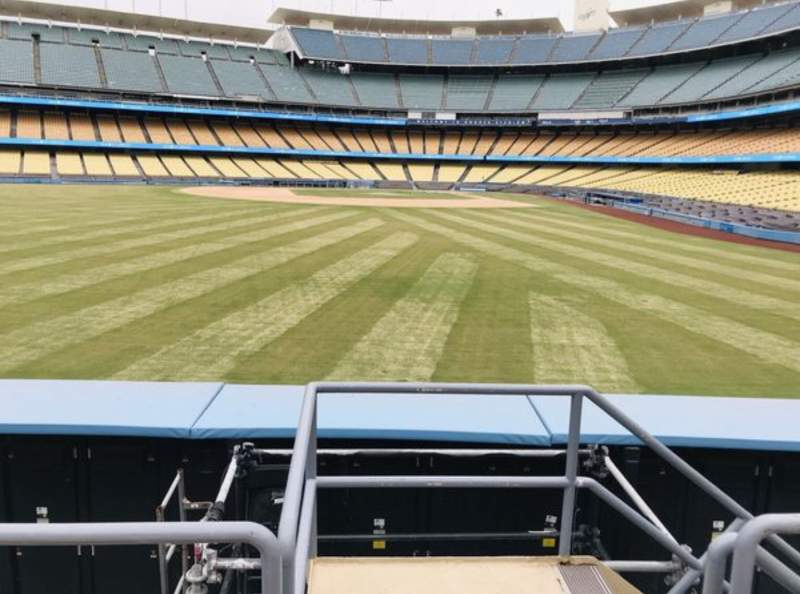 Seating view for Dodger Stadium Section 305PL Row C Seat 1