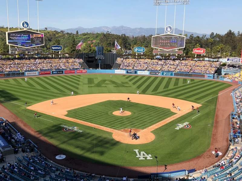Seating view for Dodger Stadium Section 3RS Row C Seat 11