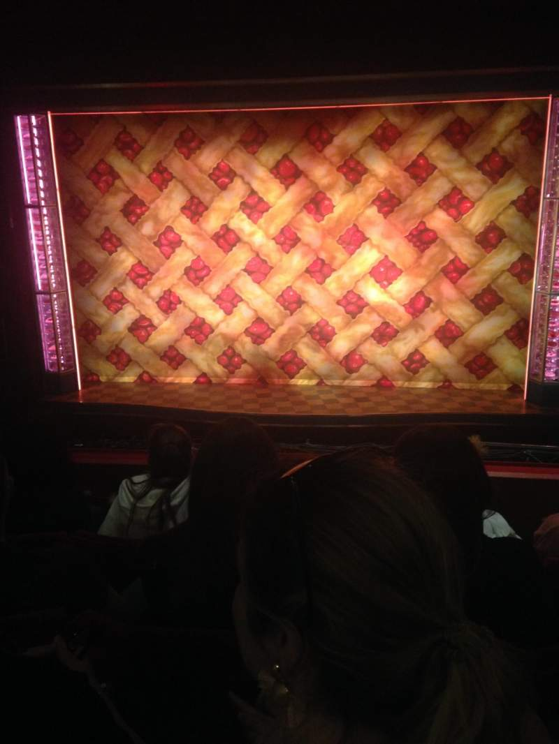 Seating view for Adelphi Theatre Section Dress Circle Row D Seat 16