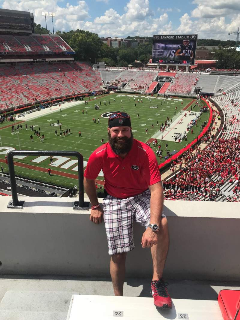 Seating view for Sanford Stadium Section 314
